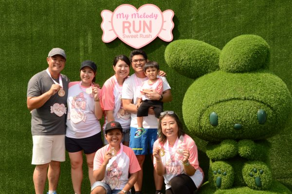 MY MELODY RUN RACE DAY 2019