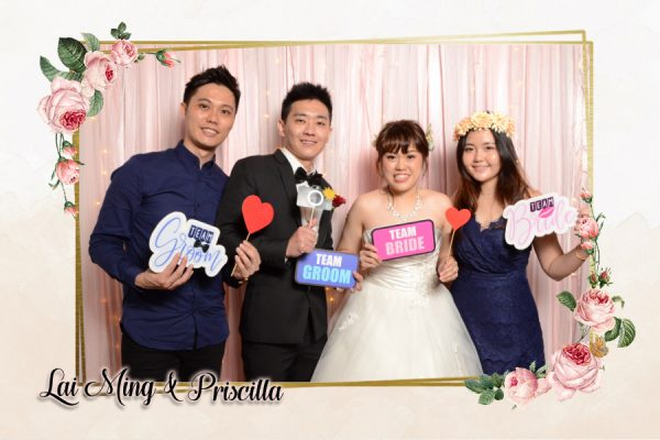 Lai Ming & Priscilla's Wedding